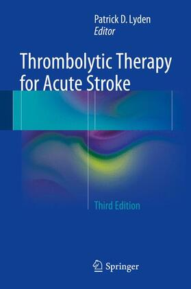 Lyden | Thrombolytic Therapy for Acute Stroke | Buch | sack.de
