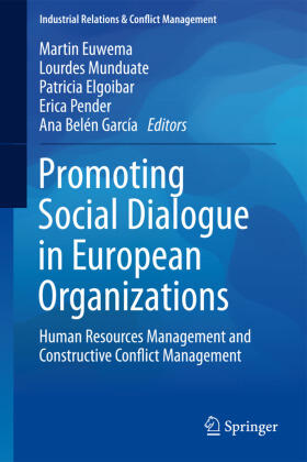 Euwema / Munduate / Elgoibar | Promoting Social Dialogue in European Organizations | Buch | sack.de