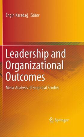 Karadag / Karadag | Leadership and Organizational Outcomes | Buch | sack.de