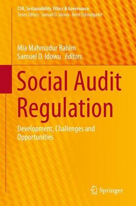 Rahim / Idowu | Social Audit Regulation | Buch | sack.de