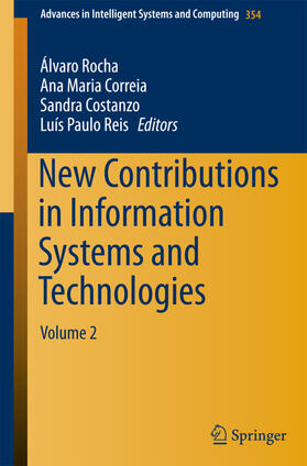Rocha / Correia / Costanzo | New Contributions in Information Systems and Technologies | Buch | Sack Fachmedien