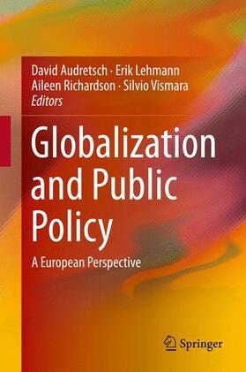 Lehmann / Richardson / Vismara | Globalization and Public Policy | Buch | Sack Fachmedien