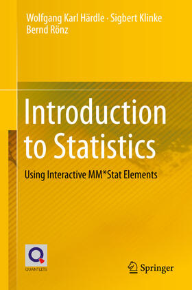 Härdle / Rönz / Klinke | Introduction to Statistics | Buch | sack.de
