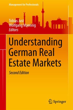 Just / Maennig | Understanding German Real Estate Markets | Buch | sack.de