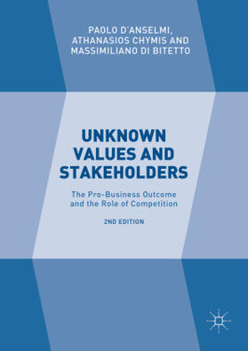 Chymis / Di Bitetto / D'Anselmi | Unknown Values and Stakeholders | Buch | sack.de
