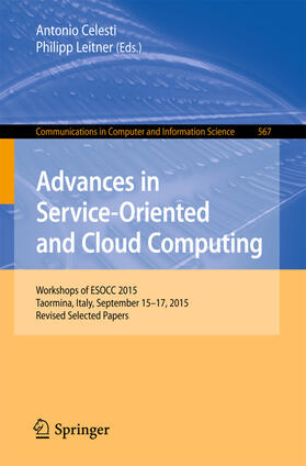 Celesti / Leitner | Advances in Service-Oriented and Cloud Computing | Buch