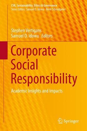 Vertigans / Idowu | Corporate Social Responsibility | Buch | sack.de