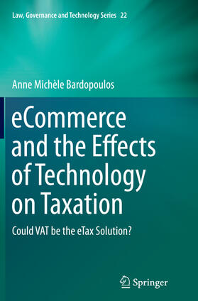 Bardopoulos | eCommerce and the Effects of Technology on Taxation | Buch | sack.de