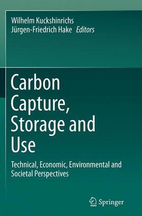 Kuckshinrichs / Hake | Carbon Capture, Storage and Use | Buch