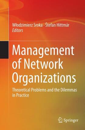 Sroka / Hittmár / Sroka   Management of Network Organizations   Buch   sack.de