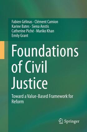Gélinas / Camion / Bates | Foundations of Civil Justice | Buch | sack.de