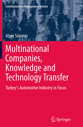 Sönmez | Multinational Companies, Knowledge and Technology Transfer | Buch | sack.de