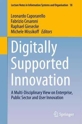 Caporarello / Missikoff / Giesecke   Digitally Supported Innovation   Buch   sack.de