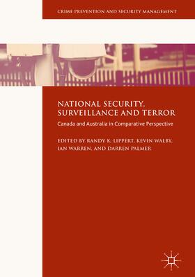 Walby / Warren / Palmer | National Security, Surveillance and Terror | Buch | sack.de