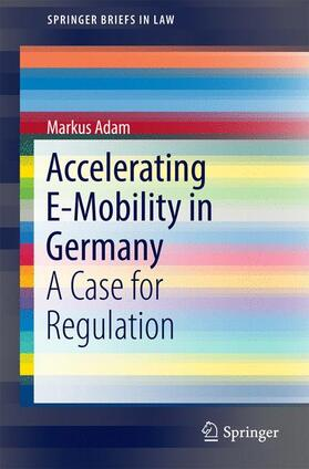 Adam   Accelerating E-Mobility in Germany   Buch   sack.de