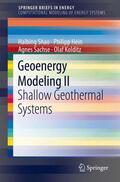 Shao / Hein / Sachse    Geoenergy Modeling II   Buch    Sack Fachmedien