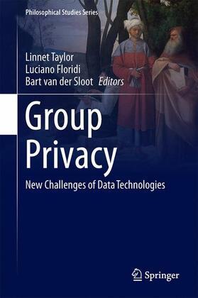 Taylor / Floridi / van der Sloot | Group Privacy | Buch | sack.de