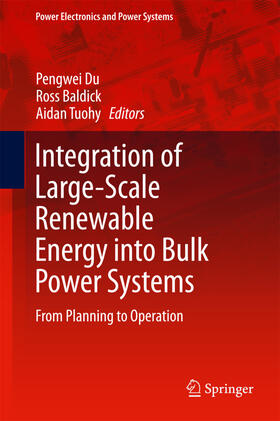 Du / Baldick / Tuohy | Integration of Large-Scale Renewable Energy into Bulk Power Systems | Buch | sack.de