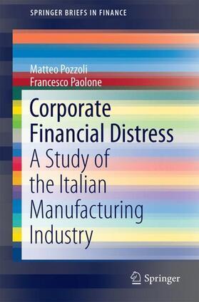 Pozzoli / Paolone   Corporate Financial Distress   Buch   sack.de
