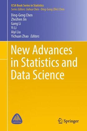 Chen / Jin / Li   New Advances in Statistics and Data Science   Buch   sack.de