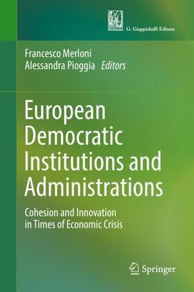 Merloni / Pioggia | European Democratic Institutions and Administrations | Buch | sack.de