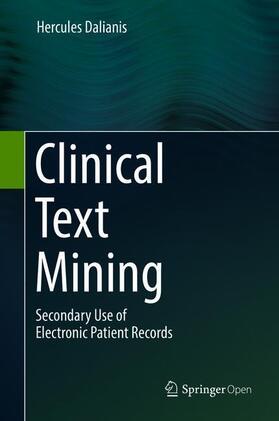 Dalianis | Clinical Text Mining | Buch | sack.de