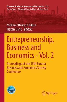 Bilgin / Danis | Entrepreneurship, Business and Economics - Vol. 2 | Buch | sack.de