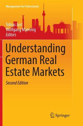 Maennig / Just   Understanding German Real Estate Markets   Buch   sack.de