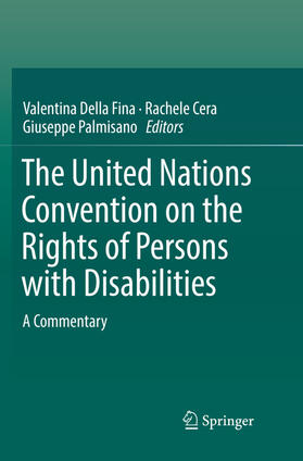 Della Fina / Cera / Palmisano | The United Nations Convention on the Rights of Persons with Disabilities | Buch | sack.de