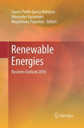 García Márquez / Karyotakis / Papaelias | Renewable Energies | Buch | sack.de