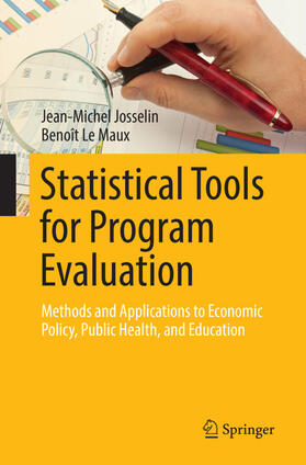 Le Maux / Josselin   Statistical Tools for Program Evaluation   Buch   sack.de