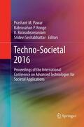 Pawar / Ronge / Balasubramaniam    Techno-Societal 2016   Buch    Sack Fachmedien