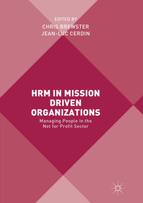Brewster / Cerdin | HRM in Mission Driven Organizations | Buch | sack.de