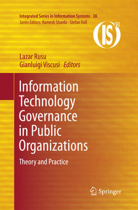 Rusu / Viscusi | Information Technology Governance in Public Organizations | Buch | sack.de