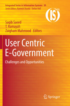 Saeed / Mahmood / Ramayah | User Centric E-Government | Buch | sack.de