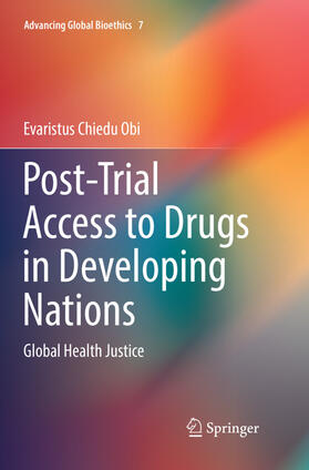Chiedu Obi | Post-Trial Access to Drugs in Developing Nations | Buch | sack.de