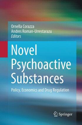 Roman-Urrestarazu / Corazza | Novel Psychoactive Substances | Buch | sack.de