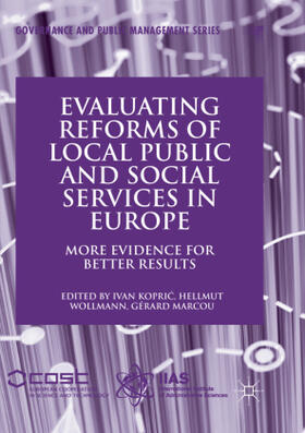 Kopric / Marcou / Wollmann | Evaluating Reforms of Local Public and Social Services in Europe | Buch | sack.de