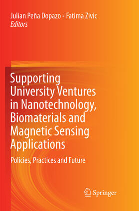 Peña Dopazo / Zivic | Supporting University Ventures in Nanotechnology, Biomaterials and Magnetic Sensing Applications | Buch | sack.de