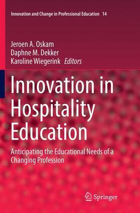 Oskam / Dekker / Wiegerink | Innovation in Hospitality Education | Buch | sack.de