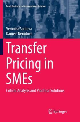 Nerudova / Solilova | Transfer Pricing in SMEs | Buch | sack.de
