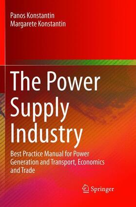 Konstantin / Konstantin   The Power Supply Industry   Buch   sack.de