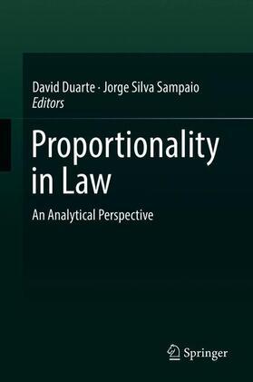 Duarte / Silva Sampaio   Proportionality in Law   Buch   sack.de