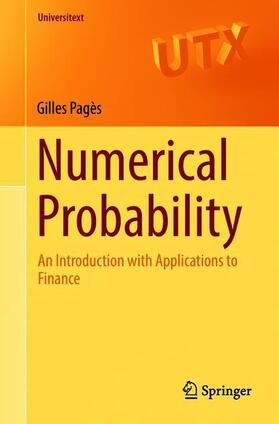 Pagès   Numerical Probability   Buch   sack.de