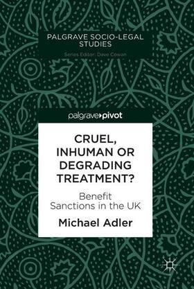 Adler | Cruel, Inhuman or Degrading Treatment? | Buch | sack.de