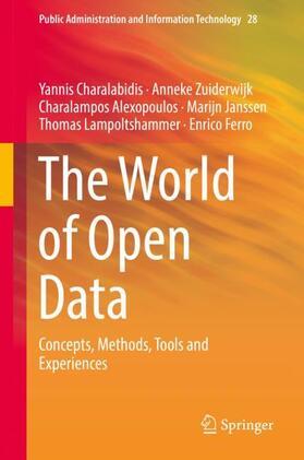 Charalabidis / Zuiderwijk / Ferro   The World of Open Data   Buch   sack.de