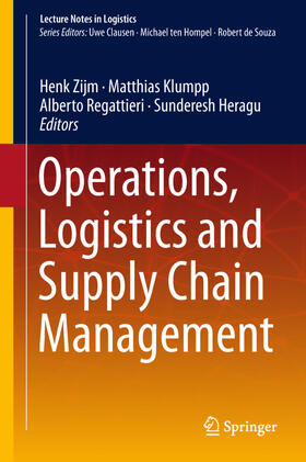 Zijm / Klumpp / Regattieri | Operations, Logistics and Supply Chain Management | Buch | sack.de