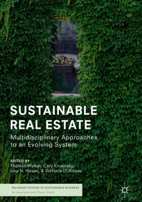 Walker / Krosinsky / Hasan | Sustainable Real Estate | Buch | sack.de