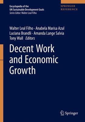 Leal Filho / Azul / Brandli   Decent Work and Economic Growth   Buch   sack.de