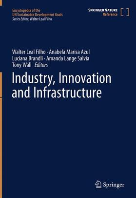 Leal Filho / Azul / Brandli | Industry, Innovation and Infrastructure | Buch | sack.de